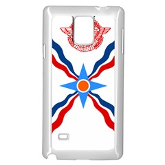 Assyrian Flag  Samsung Galaxy Note 4 Case (white)