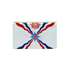 Assyrian Flag  Cosmetic Bag (xs)