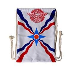 Assyrian Flag  Drawstring Bag (small)