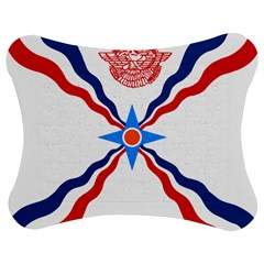 Assyrian Flag  Jigsaw Puzzle Photo Stand (bow)