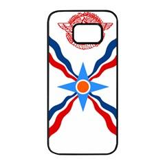 Assyrian Flag  Samsung Galaxy S7 Edge Black Seamless Case