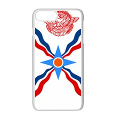Assyrian Flag  Apple Iphone 7 Plus White Seamless Case
