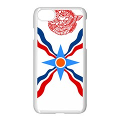 Assyrian Flag  Apple Iphone 7 Seamless Case (white)