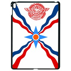Assyrian Flag  Apple Ipad Pro 9 7   Black Seamless Case