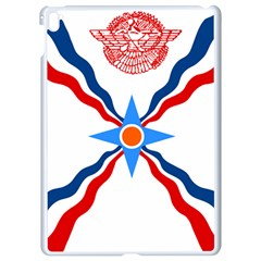 Assyrian Flag  Apple Ipad Pro 9 7   White Seamless Case