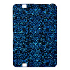 Damask2 Black Marble & Deep Blue Water Kindle Fire Hd 8 9
