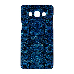 Damask2 Black Marble & Deep Blue Water Samsung Galaxy A5 Hardshell Case