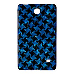 Houndstooth2 Black Marble & Deep Blue Water Samsung Galaxy Tab 4 (7 ) Hardshell Case