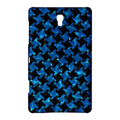 Houndstooth2 Black Marble & Deep Blue Water Samsung Galaxy Tab S (8 4 ) Hardshell Case