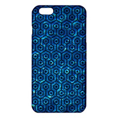 Hexagon1 Black Marble & Deep Blue Water (r) Iphone 6 Plus/6s Plus Tpu Case