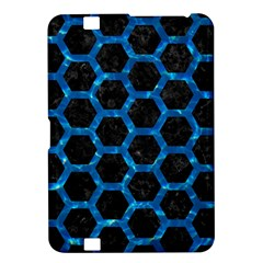 Hexagon2 Black Marble & Deep Blue Water Kindle Fire Hd 8 9