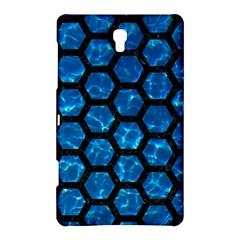 Hexagon2 Black Marble & Deep Blue Water (r) Samsung Galaxy Tab S (8 4 ) Hardshell Case