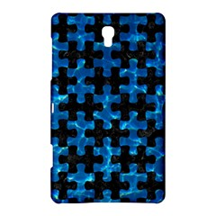 Puzzle1 Black Marble & Deep Blue Water Samsung Galaxy Tab S (8 4 ) Hardshell Case