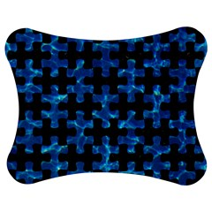 Puzzle1 Black Marble & Deep Blue Water Jigsaw Puzzle Photo Stand (bow)