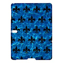 Royal1 Black Marble & Deep Blue Water Samsung Galaxy Tab S (10 5 ) Hardshell Case