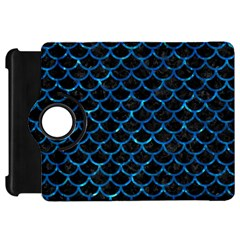 Scales1 Black Marble & Deep Blue Water Kindle Fire Hd 7