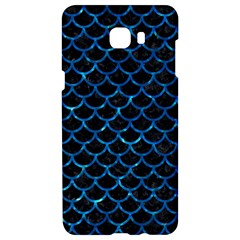 Scales1 Black Marble & Deep Blue Water Samsung C9 Pro Hardshell Case