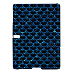 Scales3 Black Marble & Deep Blue Water Samsung Galaxy Tab S (10 5 ) Hardshell Case
