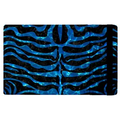 Skin2 Black Marble & Deep Blue Water Apple Ipad Pro 9 7   Flip Case