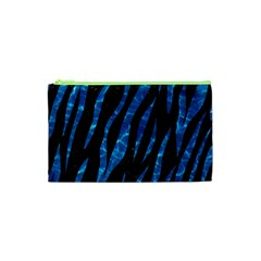 Skin3 Black Marble & Deep Blue Water Cosmetic Bag (xs)