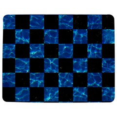 Square1 Black Marble & Deep Blue Water Jigsaw Puzzle Photo Stand (rectangular)