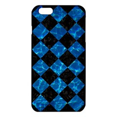 Square2 Black Marble & Deep Blue Water Iphone 6 Plus/6s Plus Tpu Case