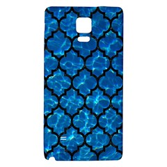 Tile1 Black Marble & Deep Blue Water (r) Galaxy Note 4 Back Case