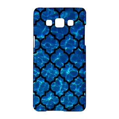 Tile1 Black Marble & Deep Blue Water (r) Samsung Galaxy A5 Hardshell Case