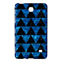 Triangle2 Black Marble & Deep Blue Water Samsung Galaxy Tab 4 (8 ) Hardshell Case