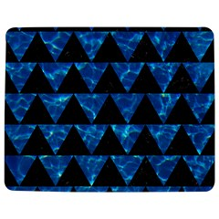 Triangle2 Black Marble & Deep Blue Water Jigsaw Puzzle Photo Stand (rectangular)