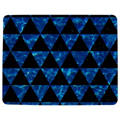 Triangle3 Black Marble & Deep Blue Water Jigsaw Puzzle Photo Stand (rectangular)