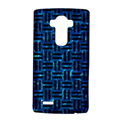 Woven1 Black Marble & Deep Blue Water (r) Lg G4 Hardshell Case