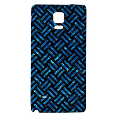 Woven2 Black Marble & Deep Blue Water Galaxy Note 4 Back Case
