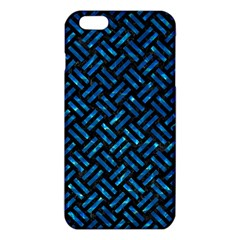 Woven2 Black Marble & Deep Blue Water Iphone 6 Plus/6s Plus Tpu Case
