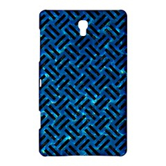Woven2 Black Marble & Deep Blue Water (r) Samsung Galaxy Tab S (8 4 ) Hardshell Case