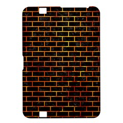 Brick1 Black Marble & Fire Kindle Fire Hd 8 9