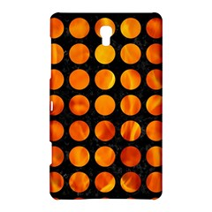 Circles1 Black Marble & Fire Samsung Galaxy Tab S (8 4 ) Hardshell Case