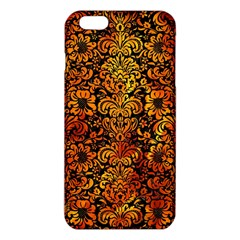 Damask2 Black Marble & Fire Iphone 6 Plus/6s Plus Tpu Case