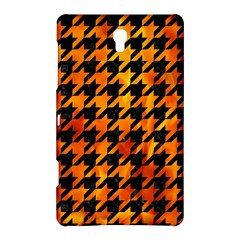 Houndstooth1 Black Marble & Fire Samsung Galaxy Tab S (8 4 ) Hardshell Case