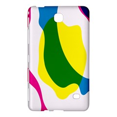 Anatomicalrainbow Wave Chevron Pink Blue Yellow Green Samsung Galaxy Tab 4 (8 ) Hardshell Case