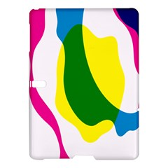 Anatomicalrainbow Wave Chevron Pink Blue Yellow Green Samsung Galaxy Tab S (10 5 ) Hardshell Case