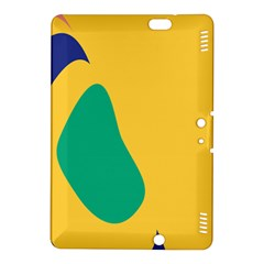 Yellow Green Blue Kindle Fire Hdx 8 9  Hardshell Case