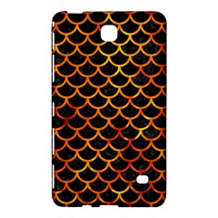 Scales1 Black Marble & Fire Samsung Galaxy Tab 4 (7 ) Hardshell Case