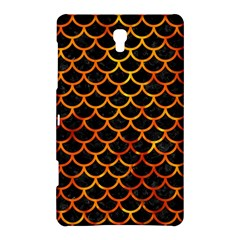 Scales1 Black Marble & Fire Samsung Galaxy Tab S (8 4 ) Hardshell Case