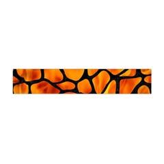 Skin1 Black Marble & Fire Flano Scarf (mini)