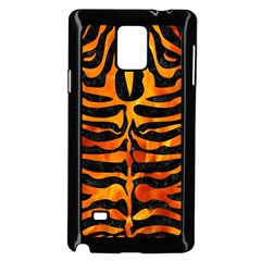 Skin2 Black Marble & Fire Samsung Galaxy Note 4 Case (black)