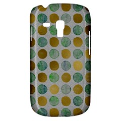 Green And Golden Dots Pattern                      Samsung Galaxy Ace Plus S7500 Hardshell Case