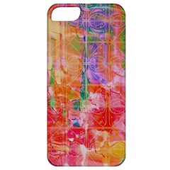 Colorful Watercolors Pattern                      Apple Iphone 5 Hardshell Case (pc+silicone)