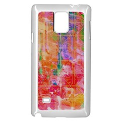 Colorful Watercolors Pattern                      Samsung Note 4 Hardshell Back Case