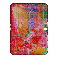 Colorful Watercolors Pattern                      Samsung Galaxy Tab 4 (10 1 ) Hardshell Case